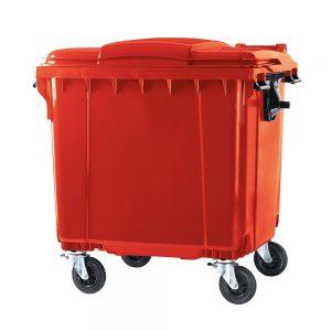 Pojemnik na śmieci 660 L Aglo3 Częstochowa Śląsk