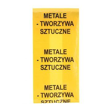 Worki LDPE do selektywnej zbiórki odpadów Aglo3 Częstochowa Śląsk